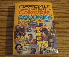 The Official price Guide to Collectible Records 1985 Paperback