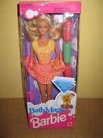 MATTEL BATH MAGIC BARBIE 5274 doll box outfit blonde
