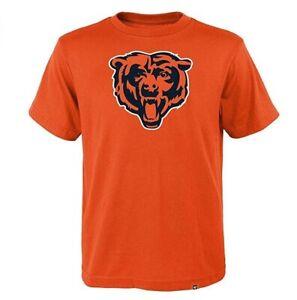Chicago Bears Men's Super Rival Throwback Logo T-Shirt - Orange