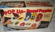 #1447 NRFB Vintage Illco Pop Up Pound Puppies Preschool Toy