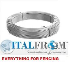 100mt tension line wire 2.2mm wire mesh fencing garden fence farm