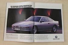BMW 840 Ci E31 - Anzeige/Werbung