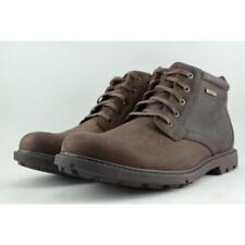Botas de hombre Rockport de piel color principal marrón
