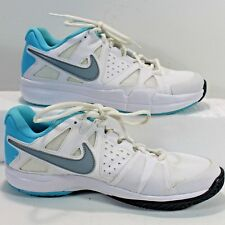 NIKE AIR VAPOR  Advantage Running Shoe Sz 9.5 599364 Tennis Sneaker White Teal