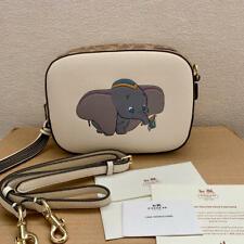 Dumbo Disney X Coach Camera Bag 2019 LIMITED EDITION chalk new