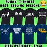 FUNNY T SHIRTS MENS T-SHIRT TOP JOKE NOVELTY TEE RUDE DESIGN GIFT S - 5XL (MD2)