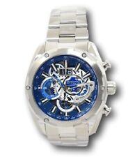 Invicta Speedway Men's 50mm Skeleton Dial Silver Miyota Chronopraph Watch 30037