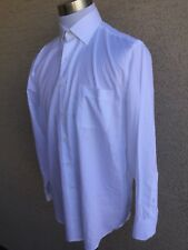 Tommy Bahama Long Sleeve Button-Front White  Dress Shirt Size 16-34-35. A28
