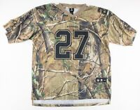 Reebok Mens Size 52 NFL Baltimore Ravens Ray Rice #27 Realtree Camo Jersey