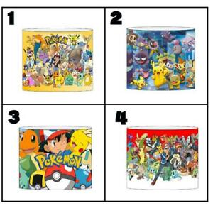"""POKEMON Ceiling Light Shade Lampshade 8""""/20cm in 4 DESIGNS FREE POST"""