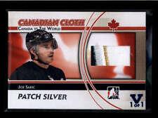 JOE SAKIC 2015/16 ITG FINAL CANADIAN CLOTH 3-CLR SILVER PATCH VAULT #1/1 AB7723