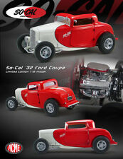 1:18 GMP 1932 Ford 3 Window Coupe SO-CAL Red/White-le marteau!