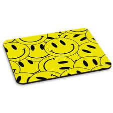 Cara Sonriente Amarillo COLLAGE ALFOMBRA RATÓN ORDENADOR PC - Divertido Happy