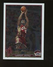 2003-04 Topps Chrome #111 LeBron James Cavaliers RC Rookie