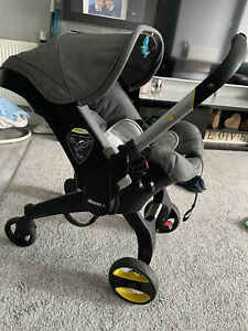 Doona Infant Car Seat Stroller - Urban Grey Used