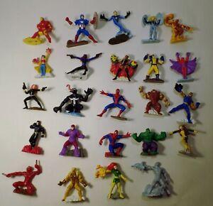 2005 Zizzlingers MARVEL Lot 24 // Complete Series 1 Spider-Man X-Men Avengers FF