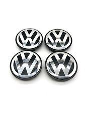 4X 65mm Wheel Center Hub Caps Logo For VW VOLKSWAGEN Golf Jetta Beetle 3B7601171