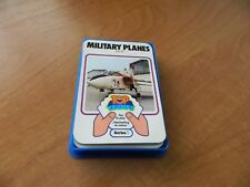 VINTAGE DUBREQ TOP TRUMPS CARD GAME- MILITARY PLANES (SERIES 1)
