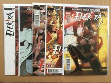 Elektra 1-5 Complete Running With The Devil 2017 Marvel