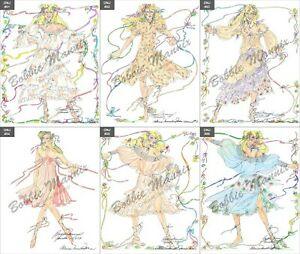 Xanadu Memorabilia Original Wardrobe Sketches of Muses - 40th Anniversary Series