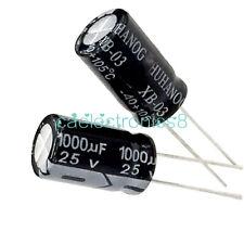 20Pcs 1000uF 10V 105°C Radial Electrolytic Capacitor 8x12mm  CA