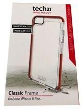 Fundas y carcasas transparentes tech21 para teléfonos móviles y PDAs Apple