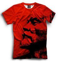 Lenin t shirt - politic legend USSR soviet union communist leader red tee