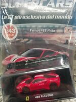 FERRARI 488 PISTA  2018  SUPERCARS GT COLLECTION 1:43 #57 - DIE CAST MIB