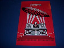 licensed Led Zeppelin propoganda Art poster - Mothership - printed Uk - New