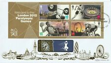 More details for 29 aug 2012 welcome to the paralympic games m/s benham blcs 549b first day cover