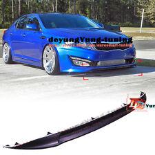 Front Bumper Lip Spoiler Anti-collision Moulding Trim For 11-13 Kia Optima K5 SX