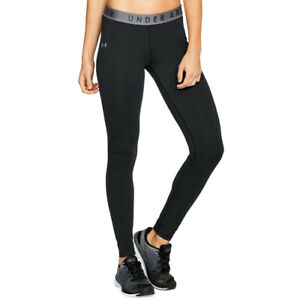 Under Armour UA Favourite Womens Black Long Tight Fitted Gym Running Leggings XS