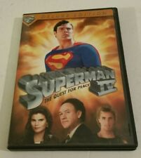 Superman IV: The Quest for Peace (DVD, 2006, Deluxe Edition)