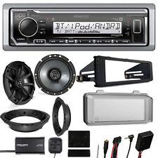 Radio + Kit, Speakers + Adapter, Steering Wheel Interface, Tuner, Weather shield
