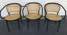 RARE AUGUST THONET SIGNED B9 BENTWOOD MODERNIST VTG ANTIQUE CHAIRS - 2 Available