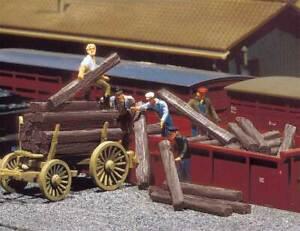 Walthers SceneMaster HO Scale Railroad Ties (Unpainted Plastic Kit) 30-Pack