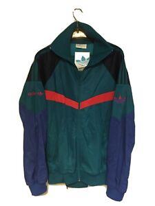 Adidas Vintage Salvador Tracksuit Jacket and Pants 80s Rare Size L,XL