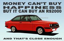 Ford Escort Mk2 RS2000 Novelty Fridge Magnet **RED**