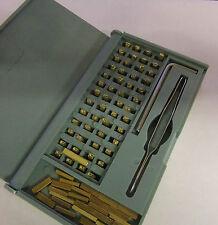 Repuesto Juego de Caracteres-Manual Hot Foil codificación máquina dy8b-expiración dates/batches