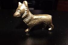Miniature Brass dog