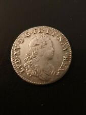 LOUIS XV  1/12 ECU FRANCE/NAVARE 1719 A