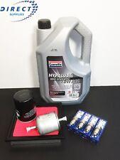 Ajuste Nissan Micra K11 1.0 1.3 93-02 KIT DE SERVICIO Filtro De Calidad OE/BOSCH ENCHUFES/Aceite