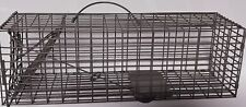 "4 - Sure-Fire Cage Live Trap 16""x5""x5"" Trapping rabbit Squirrel Chipmunk Rat"