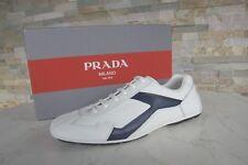 Prada Gr 40  6 Sneakers Schnürschuhe 4E2791 Schuhe Shoes weiss NEU UVP 450 €