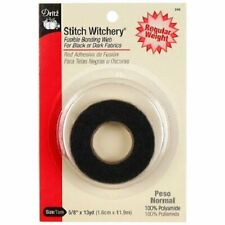 Dritz 240 Stitch Witchery Fusible Bonding Web Regular Weight