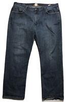 Lucky Brand 181 Bootleg Jeans w/ Flap Pockets Stretch (Big & Tall: 40 x 32)