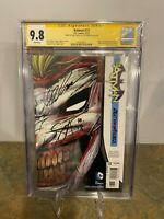 Batman #13 Death Of The family CGC SS 9.8 Signed by Greg Capullo & Scott Synder