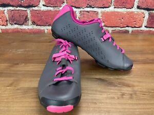 Shimano SH-XC5 Women's 40 (EU) 7.8 (US) MTB Mountain Bike Shoes 2-Bolt Gray Lace