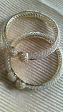 Indian jewellery bridal wedding AD and CZ ball bangles Bracelet Gift Bollywood