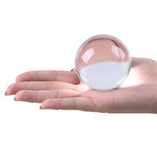 LONGWIN 60mm Clear Crystal Ball Sphere Healing Crystals Balls Photo Props